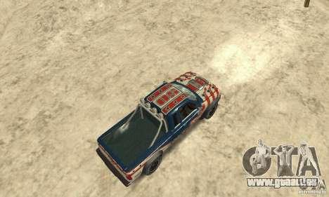 Nevada v1.0 FlatOut 2 für GTA San Andreas zurück linke Ansicht