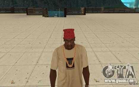 Maryshuana rot-bandana für GTA San Andreas