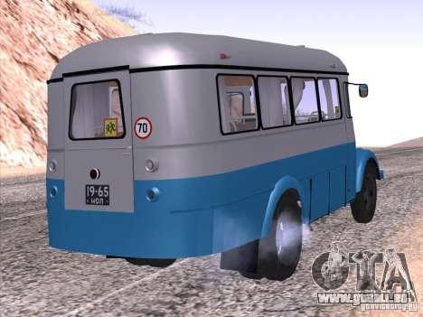 KAVZ 651 A pour GTA San Andreas laissé vue