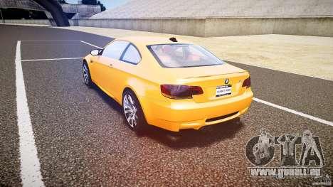 BMW M3 E92 für GTA 4 hinten links Ansicht