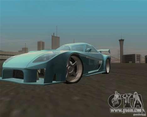 Mazda RX-7 Veilside Fortune pour GTA San Andreas vue intérieure