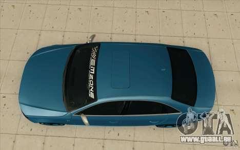 Audi S4 2009 pour GTA San Andreas vue de droite
