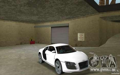 Audi R8 Le Mans pour GTA Vice City vue arrière