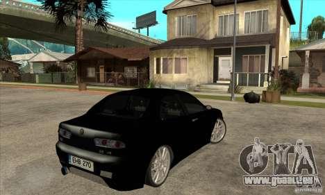 Alfa Romeo 156 Light Tune pour GTA San Andreas vue de droite