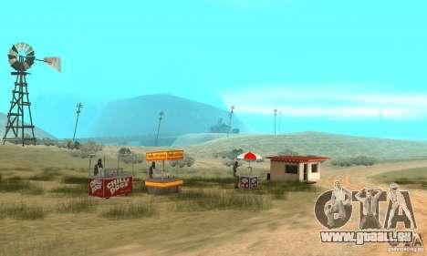 Gebiet in der Wüste für GTA San Andreas zweiten Screenshot