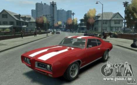 Pontiac GTO Hardtop 1968 v1 für GTA 4