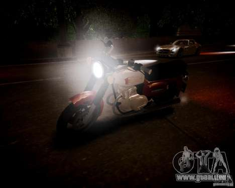 Sunrise 3 m-01-Beta für GTA 4 Rückansicht