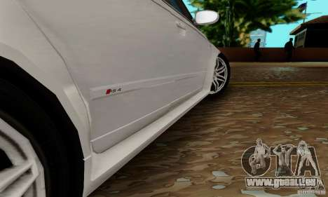 Audi RS4 2007 pour GTA San Andreas vue de dessous