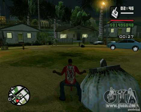 Bombe pour GTA San Andreas deuxième écran