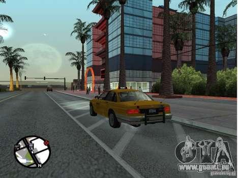 Un taxi de Gta IV pour GTA San Andreas laissé vue