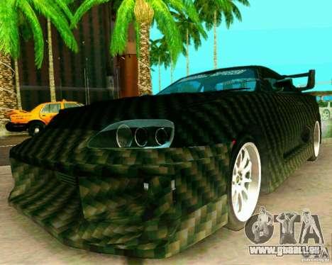 Toyota Supra Carbon für GTA San Andreas rechten Ansicht