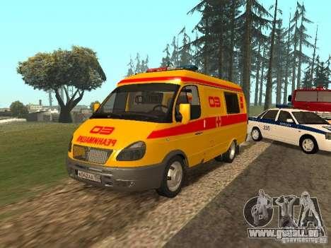GAZ réanimation 32217 pour GTA San Andreas