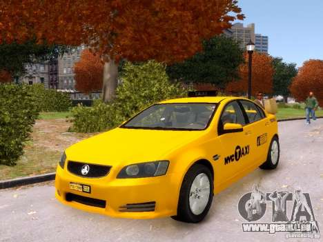 Holden NYC Taxi V.3.0 pour GTA 4