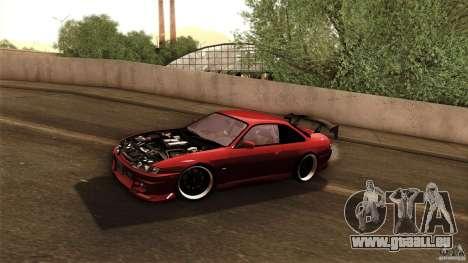 Nissan 200sx pour GTA San Andreas vue de dessus