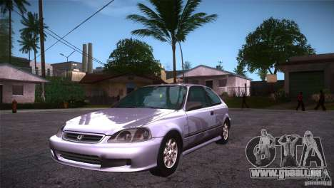 Honda Civic Tuneable für GTA San Andreas