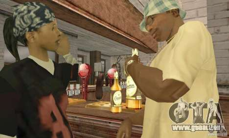 Bier SLAVUTITSCH für GTA San Andreas dritten Screenshot
