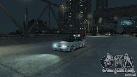 Mitsubishi Galant Stance pour GTA 4 Vue arrière