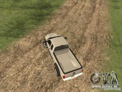 Ford Super Duty F-550 für GTA San Andreas Rückansicht