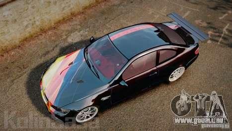 BMW E92 M3 Threep Edition pour GTA 4 est un droit