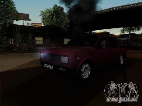 Zastava 128 pour GTA San Andreas vue arrière