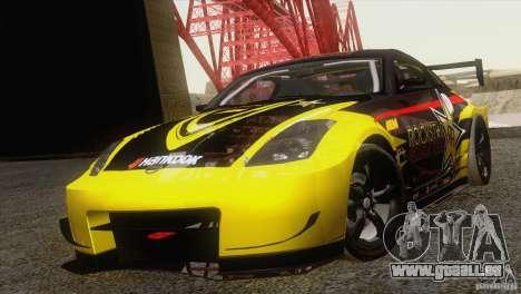 Nissan 350Z Rockstar für GTA San Andreas