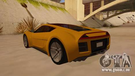 Saleen S5S Raptor 2010 pour GTA San Andreas sur la vue arrière gauche