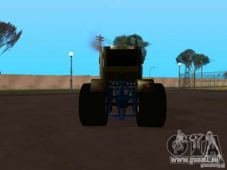 JTA 220 pour GTA San Andreas sur la vue arrière gauche