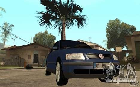 VW Passat B5 1.8T pour GTA San Andreas vue arrière
