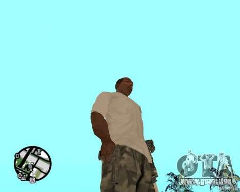 Normale Hände CJâ für GTA San Andreas her Screenshot