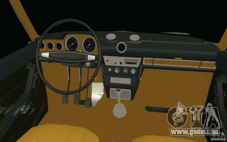 VAZ 2106 Lada für GTA San Andreas obere Ansicht