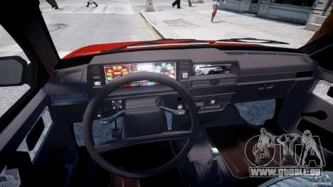 VAZ-21093i für GTA 4 Rückansicht