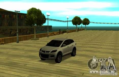 Mazda CX7 pour GTA San Andreas vue de droite