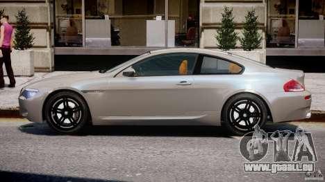 BMW M6 G-Power Hurricane pour GTA 4 Vue arrière de la gauche