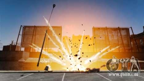 Grandes et réalistes des explosions pour GTA 4