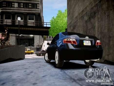 Toyota Camry pour GTA 4 est une gauche