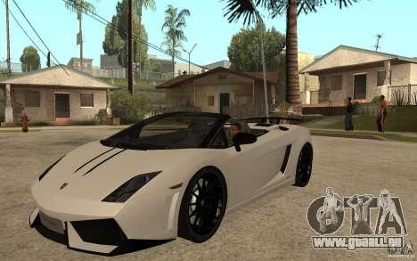 Lamborghini Gallardo LP570-4 pour GTA San Andreas