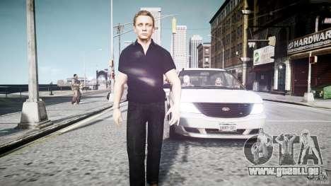 James Bond-Haut für GTA 4