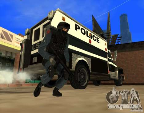 Los Angeles S.W.A.T. Skin für GTA San Andreas her Screenshot
