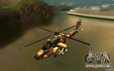 Hunter Armee Look pour GTA San Andreas