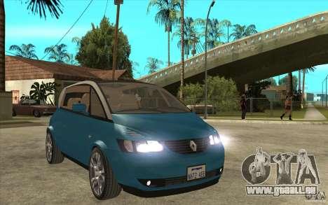 Renault Avantime Mild Tuning pour GTA San Andreas vue arrière