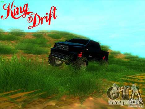 Toyota Tundra OFF Road Tuning für GTA San Andreas