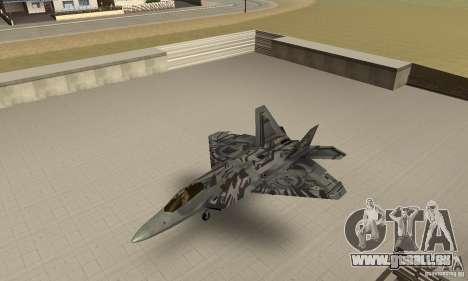 F-22 Starscream für GTA San Andreas