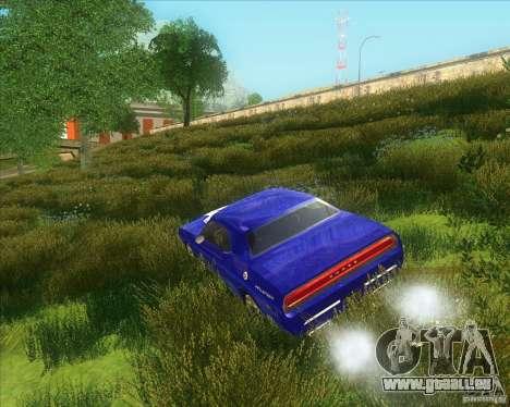 Dodge Challenger concept pour GTA San Andreas sur la vue arrière gauche