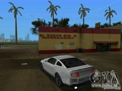 Ford Shelby GT500 pour GTA Vice City sur la vue arrière gauche