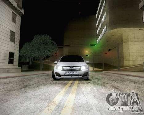 Grant 2190 VAZ pour GTA San Andreas laissé vue