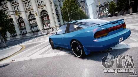 Nissan 240sx v1.0 für GTA 4 Innen