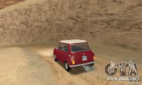 Mini Cooper S für GTA San Andreas linke Ansicht