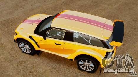 Bowler EXR S 2012 pour GTA 4 est un droit