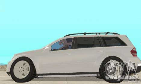 Mercedes-Benz GL450 pour GTA San Andreas sur la vue arrière gauche