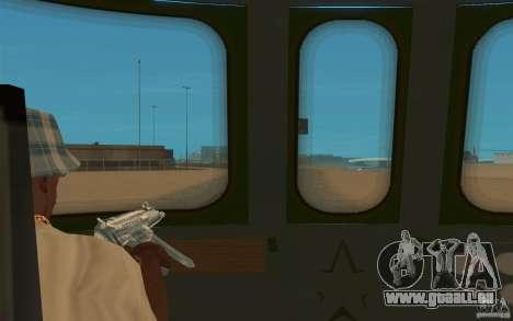 New Graffity Train für GTA San Andreas rechten Ansicht